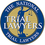 Logo Recognizing Law Office of Scott Miller's affiliation with the National Trial Lawyers