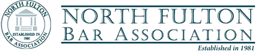 Logo Recognizing Law Office of Scott Miller's affiliation with the North Fulton Bar Association